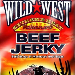 Wild West Habanero Extreme Heat Jerky, 85 g