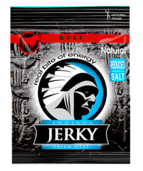 Indiana Beef Jerky Natural, 25g