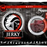 Indiana Beef Jerky Peppered, 100g