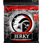 Indiana Beef Jerky Peppered, 25g