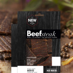 The Meat Makers Beef Steak Peppered, 200g