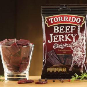 Torrido Beef Jerky Original, 35g
