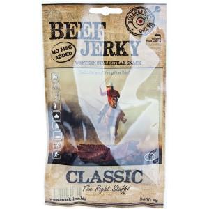 Bullseye Meats Beef Jerky Classic, 50g