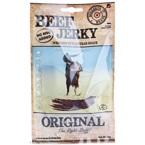 Bullseye Meats Beef Jerky Original, 50g