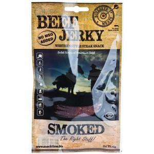 Bullseye Meats Beef Jerky Smoked, 50g