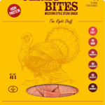 Bullseye Meats Turkey Jerky Bites Sage & Onion, 40g