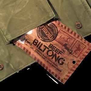 Traveler's Friend Beef Biltong, 50g